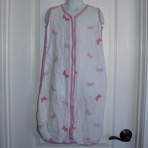 Aden + Anais Pink Muslin Swaddle Blanket Sz Medium